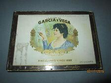 """Vintage La Flor De Garcia Y Vega """"Fancy Tales"""" Claro Claro cigar box, Tampa, FL"""