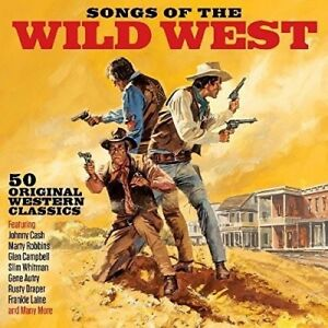 SONGS OF THE WILD WEST (EDDIE ARNOLD, GENE PITNEY, BURL IVES,...)  2 CD NEW!
