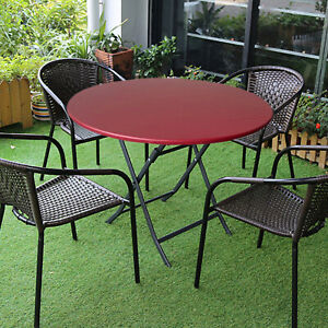 Round Table Cloth Table Cover Backed Vinyl Easy Clean Party Decoration
