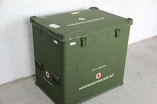 BUNDESWEHR ZARGES ALU BOX B-Y KISTE 360L 80x60x76 LAGER BEHÄLTER ARMY CASE  BW