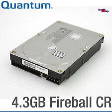 "IDE ATA HDD QUANTUM FIREBALL DISCO RIGIDO CR 8.89cm 3.5"" 4.3gb cr43a101 HARD DISK"