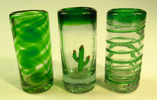 Mexican tequila SHOT Glasses, 3 Brothers, Tres Hermanos
