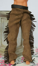 Native American Indian clothes fit 1:6 scale doll Western pants fit Ken Fringe