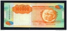 ANGOLA - 1991 100000 Kwanza Circulated Note - Condition/Serial Number as Scan