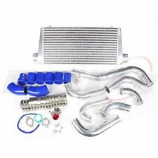 NEW V2 REV9 95-99 ECLIPSE 2G GST GSX FRONT MOUNT INTERCOOLER KIT + BOV + J PIPE