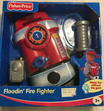Fisher Price Floodin' Fire Fighter Backpack Water Toy with hose