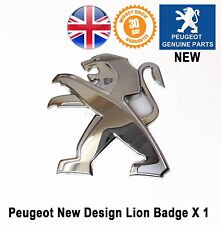 Peugeot 3008 Lion Badge Rear Tailgate Book 9675703080 Genuine New
