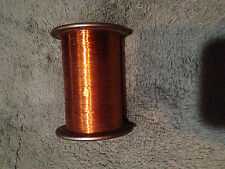"""1.lb 3 0z very fine copper wire .0050"""" for toroids, magnets, transformer winding"""