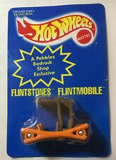 Hot Wheels Flintstones Color-changing Flintmobile 1994 NIP Pebble Bedrock Shop