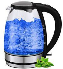 Glas Design Wasserkocher 1 7 Liter 2000 watt mit LED