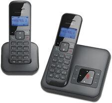 T-Sinus CA34+1 Schwarz Schnurlos Duo Telefon 2 mit Mobilteilen Anrufbeantworter