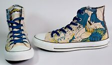 🔥UNISEX CONVERSE BATMAN CHUCK TAYLOR HI SHOES Sz Us Women's 8 Men's 6 132438C🔥