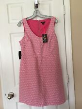 Womans I Love Ronson Fuscia Dress  - Size L