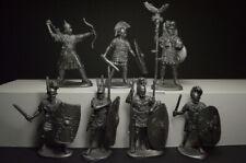 Ensemble de Soldats Romain Infanterie Plastique 1/32 7 Figurines 54 MM