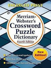 Merriam-Webster's Crossword Puzzle Dictionary, Fourth Edition by Merriam...