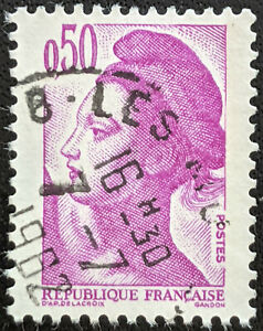 Stamp France SG2450 1982 50c Liberty Issue Used