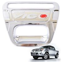 TOYOTA HILUX TAILGATE DECAL BRUSHED CHROME Sticker 2004 Year onwards