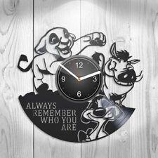 The Lion King Vinyl Clock FAST USA SHIPPING Nursery Decor Wall Art New Year Gift