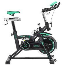 Bicicleta Spinning Profesional estatica regulable volante inercia 25kg pulsómetr
