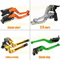 Folding/Classic/3D Brake Clutch Levers for FZ6N 2004-2009 Yamaha
