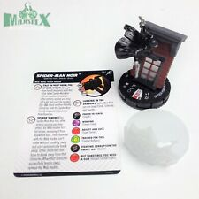 Heroclix Superior Foes of Spider-Man set Spider-Man Noir #061 Chase fig w/card!