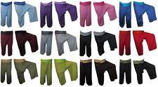 Thai Fisherman Trousers Pants Rayon Yoga Tai Chi Pregnancy Plus Size Pilates