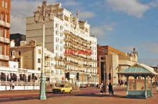 PHOTO  SUSSEX 1988 BRIGHTON NE VIEW ON SEAFRONT (KINGS ROAD) AND GRAND HOTEL