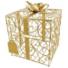 Gold Gift Card Holder Wedding Card Box Reception Money Gift Card Box
