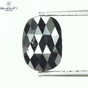 1.16 CT, Oval Diamond, Natural loose Diamond, Salt And Pepper, N2-66