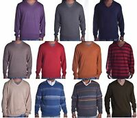 Club Room Men's $75-$85 Merino Wool V Neck Sweater Choose & Color & Size