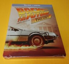 Back to the Future Trilogy Steelbook(Bluray+DIGITAL)30TH ANNIVERSARY-NEW-FreeS&H