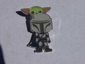Disney Tauschen Pin Star Wars Der Mandalorianer Mando & Die Kinder Chibi