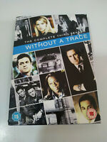 Without A Trace Complete Third 3 Season - 4 X DVD Spagnolo Inglese