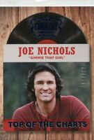 JOE NICHOLS 2014 Panini Country Music Top of the Charts Blue  Parallel #D /199