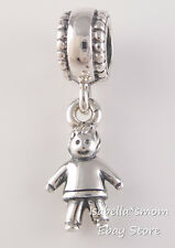 BOY~SON~GRANDSON Authentic PANDORA Silver DANGLE Family Charm 790859 NEW w BOX