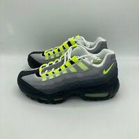 Nike Air Max 95 OG 2020 Black Neon Graphite CZ0910 001 (GS) Multi Size 4-6 NEW