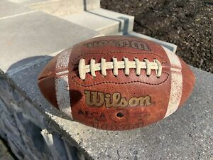 Notre Dame Fighting Irish Game Used Wilson AFCA NCAA Football