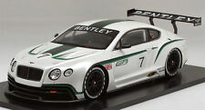 Bentley Continental Gt3 Mondial De L'Automobile 2012 1:18 Model