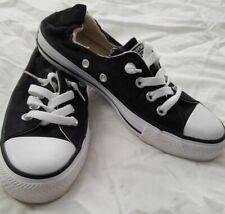 Converse All Stars  Sneakers Black Size US 6 UK 4  Elastic Back