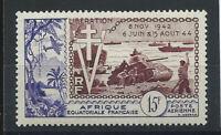 Afrique Équatoriale Française PA N° 57* (MH) 1954 10eme Anniversaire