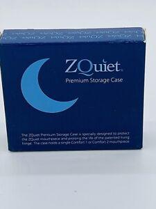 ZQUIET Premium Storage Case for Anti-Snoring Mouthpiece (Snoring Device NOT Inc)