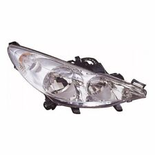 For Peugeot 207 5/2010 Headlight Headlamp Chrome Uk Drivers Side O/S