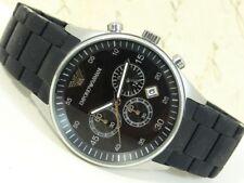 ae1aba293a8 Autêntico EMPORIO ARMANI AR-5858 data Relógio De Pulso Masculino