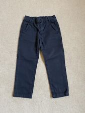Gucci Boys Navy Blue Chino Trousers Size 3 Years Old 36 Months