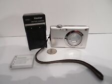 Nikon COOLPIX S4000 12.0MP Digital Camera silver touchscreen w Battery & Charger