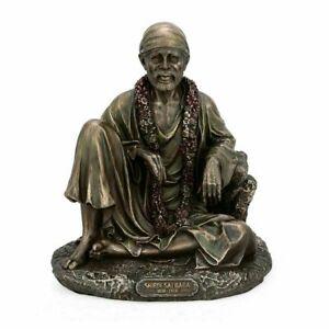 Hindu God Lord Sai Baba Sai Nath Ji Idol for Home Temple Statue Showpiece Gift