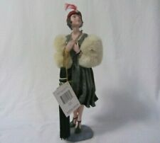 2000 Possible Dreams Clothtique Daisy 1920'S Flapper Girl Doll Figurine Mib Tags