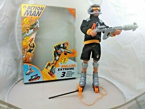 ACTION MAN FIGURE ROLLER EXTREME 3  FROM HASBRO 1997 edition FREE & FAST P&P