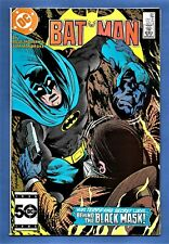 Batman #387(1985) Intro BLACK MASK (Cont'd from 386) DC Comics High Grade VF/NM+