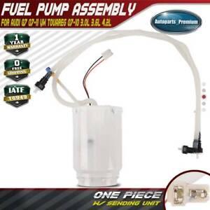 A-Premium Fuel Pump Assembly Compatible with Audi Q7 2007-2011 Volkswagen Touareg 2007-2010 3.0L 3.6L 4.2L